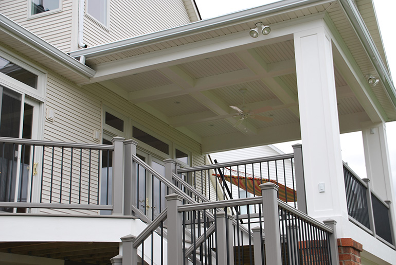 Grand Porch Addition with Kitchen Addition