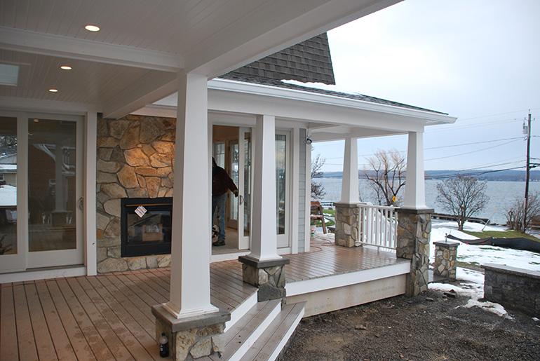 Canandaigua, NY – Family Room and Porch Addition