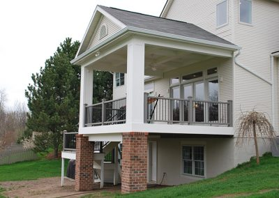Pittsford, NY – Grand Porch Addition with Kitchen Addition