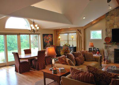 Victor, NY – Family Room Addition with Custom Kitchen Renovation
