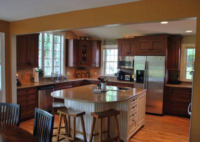Perinton, NY – Family Room, Kitchen and Porch Addition
